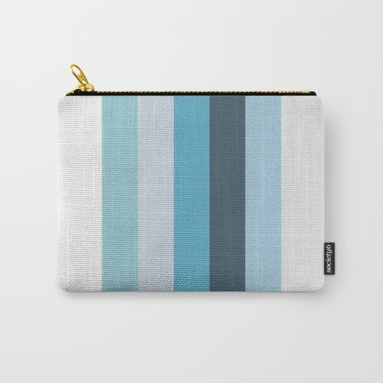 Summer Shades of Blue Carry-All Pouch