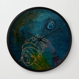 Dread Head Wall Clock