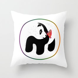 Positive Space Throw Pillow