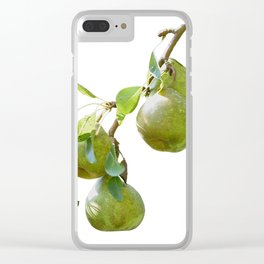 4 pears Clear iPhone Case