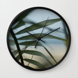 Frond Wall Clock
