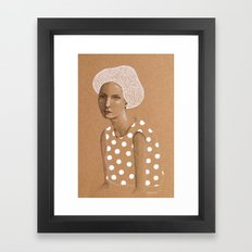 Neka Framed Art Print