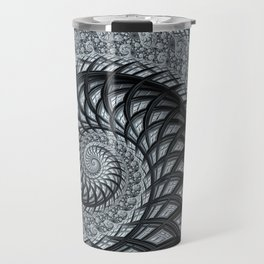 The Daily News - Fractal Art Travel Mug