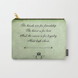 Claddagh ~ Love, Loyality, and Friendship Carry-All Pouch