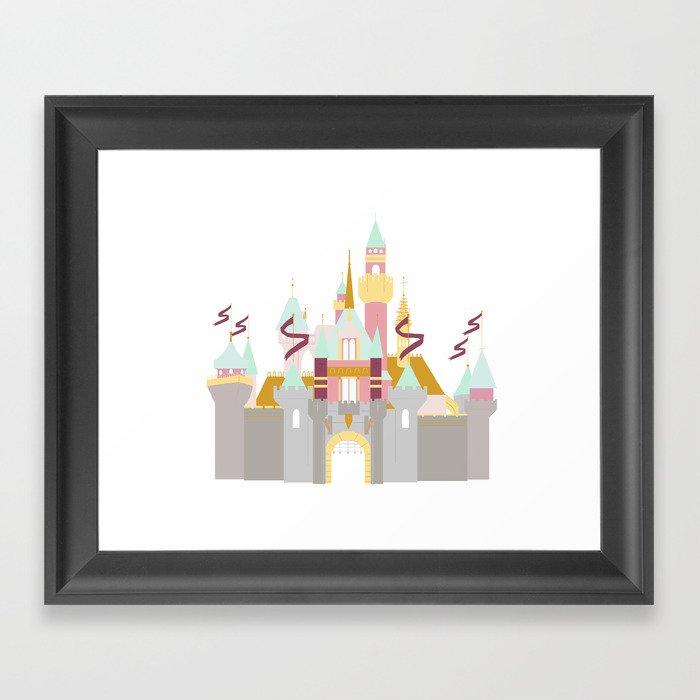 Castle 2 Gerahmter Kunstdruck