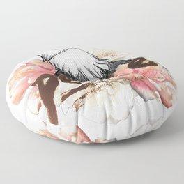 Peace Wreath Floor Pillow