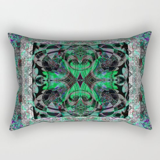 Boho Celtic Emerald Green Knot Mandala by carlieamberpartridge