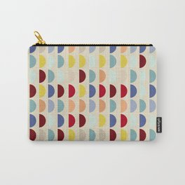 Semi circles multicolor geometric interior design Carry-All Pouch