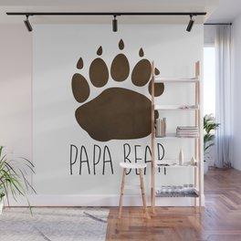 Papa Bear Wall Mural