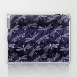 Purple Dragonfly Twighlight Dance Laptop & iPad Skin