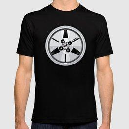 Wheel Design Retro JDM Racing Dish T-shirt