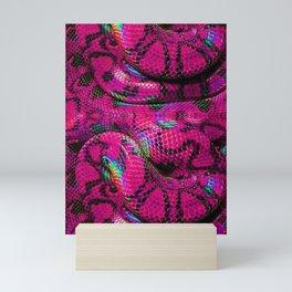 Pink Barbie Snake Mini Art Print
