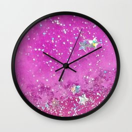 Candy Universe Wall Clock