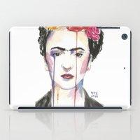 frida iPad Cases featuring Frida by SirScm