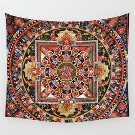 Buddhist Mandala 41 Chakrasamvara Luipa Wall Tapestry