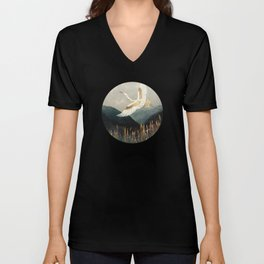 Elegant Flight Unisex V-Neck