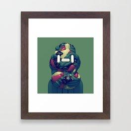 Lump Head Framed Art Print