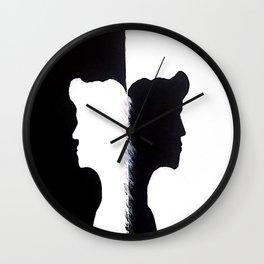 Wrong Place Wrong Time Wall Clock