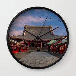 Senso-ji Sunrise Wall Clock