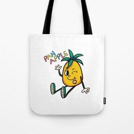 The Pan Apple Tote Bag