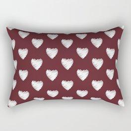 Maroon 10.7. Rectangular Pillow