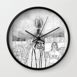 The constellation erotique 2952 Wall Clock