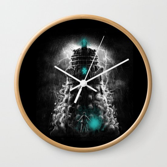 Shadow Of The Dalek Wall Clock