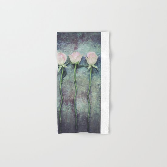 Three Roses IV Hand & Bath Towel