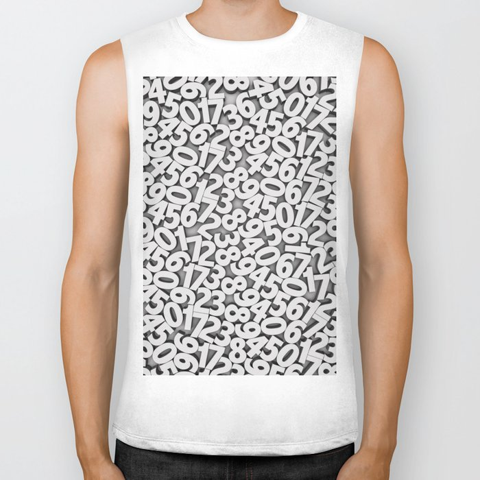 By the numbers Biker Tank