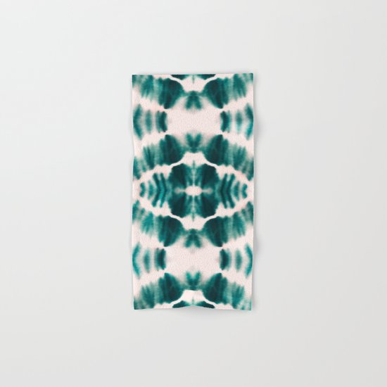 BOHEMIAN EMERALD SHIBORI Hand & Bath Towel