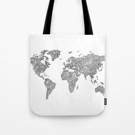 Line it #2 Tote Bag