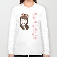 bubble Long Sleeve T-shirts featuring Bubble by AnnaCas