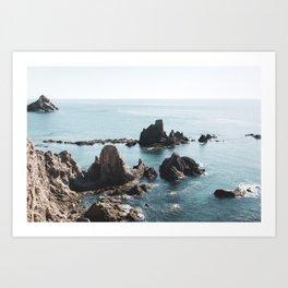 Cabo de Gata #4 Art Print