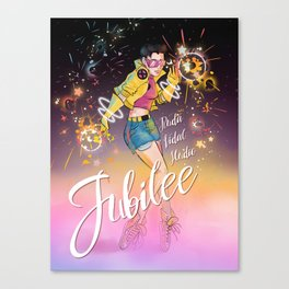 Jubilee X-Girls Canvas Print