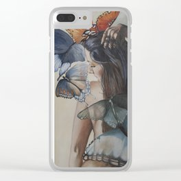 Earth Angels Clear iPhone Case