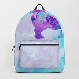 Abstract Rhino B Backpack