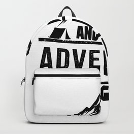 Vacation Camping Adventure Begins Camp Trip Backpack