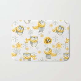 Winter Pattern 6 Bath Mat