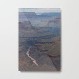Smokey Canyon Metal Print