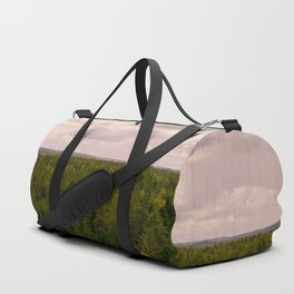 Forest and sky Duffle Bag