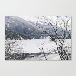 Three Valley Gap Canvas Print
