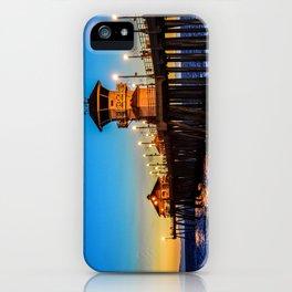 December Pier iPhone Case