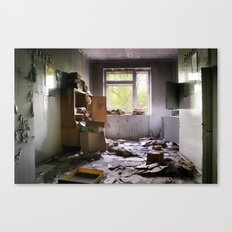 Chernobyl - номер Canvas Print