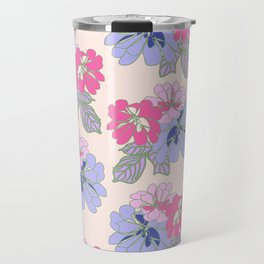 Pastel Peonies Travel Mug
