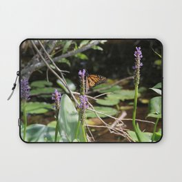 Butterfly at the Lake Laptop Sleeve