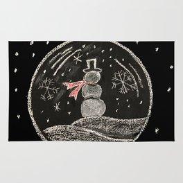 snowmen bubbles Rug