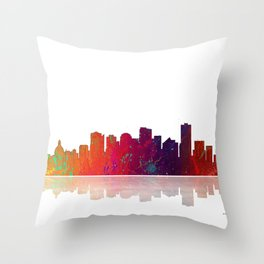 Skyline Edmonton 1 Throw Pillow