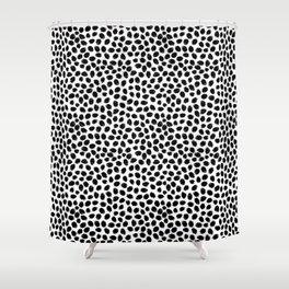 Scratch Confetti Shower Curtain