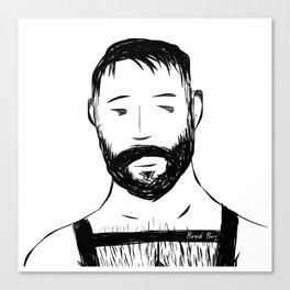 Beard Boy Harness 1 Canvas Print