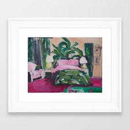 Golden Girls, Blanche's Boudoir Framed Art Print